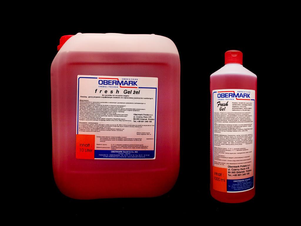 Produkt do czyszczenia firmy obermark